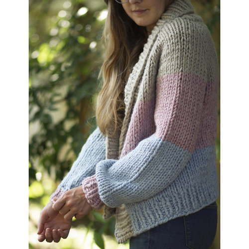 Universal Yarn Paintbox Cardigan (Free) -  ()