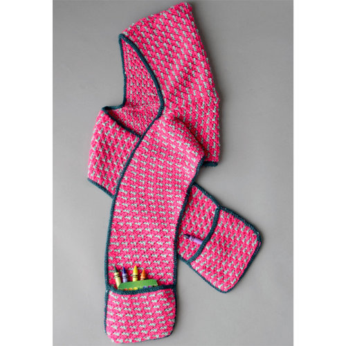 Universal Yarn Pocket Scarf PDF -  ()