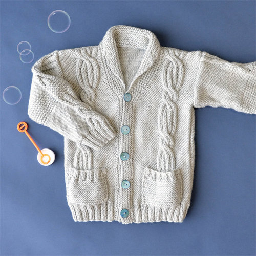 Universal Yarn Rough & Tumble Cardigan PDF -  ()