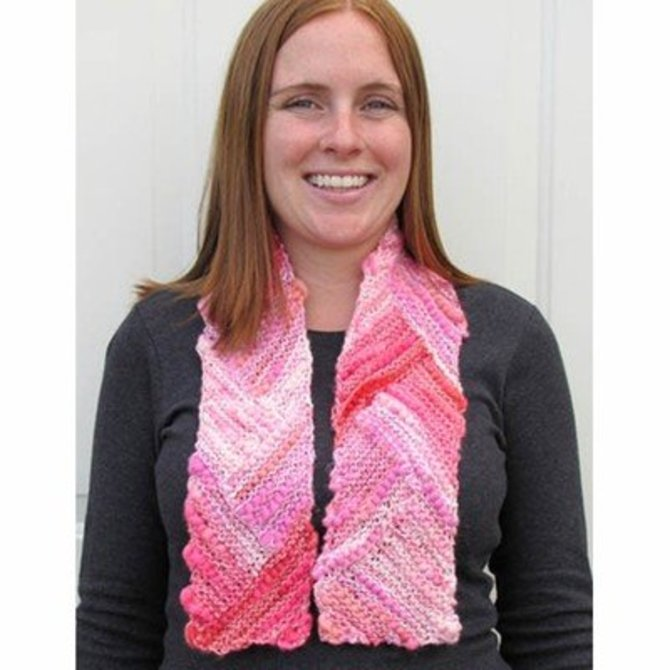 Universal Yarn Short Row Corners Scarf Free At Webs Yarn Com