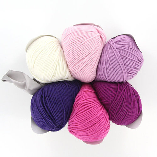 Universal Yarn Staccato Shawl Color Kit - Pinks (PINK)
