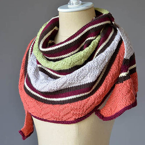 Universal Yarn Stratification Shawl Color Kit - Spice Box (SPICE)