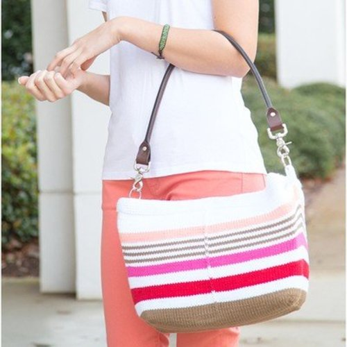 Universal Yarn Striped Tote PDF -  ()