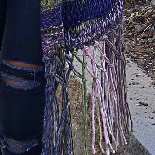 Universal Yarn Summit Scarf PDF -  ()