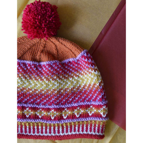 Universal Yarn Sunset Color Shift Hat & Mitts Color Kit -  ()