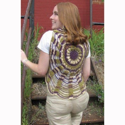 Universal Yarn Unchained Circles Vest (Free) -  ()