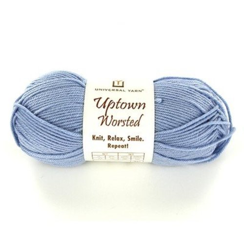 Universal Yarn Uptown Worsted - Baby Blue (308)