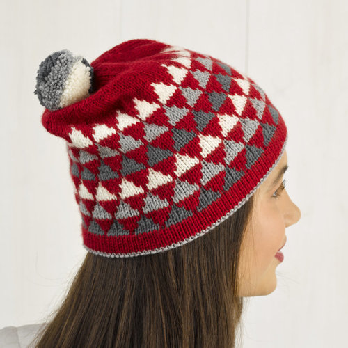 Valley Yarns 002 Bousquet Hat Kit - Model (01)