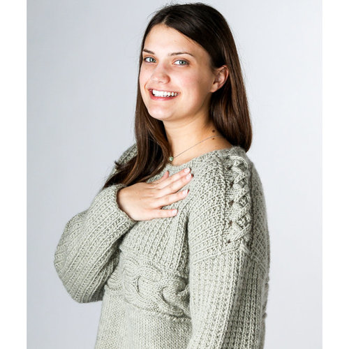 "Valley Yarns 009 Ridgeline Pullover Kit - 36¼"" (01)"