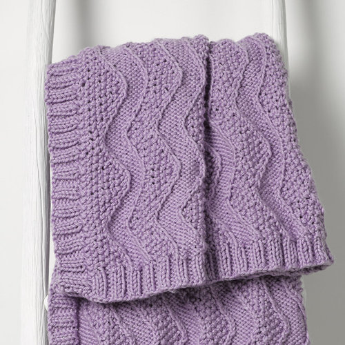 Valley Yarns 1001 Peppermint Kiss Kit - Baby Blanket (01)