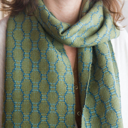 Valley Yarns #109 Olive Ovals Scarf PDF -  ()