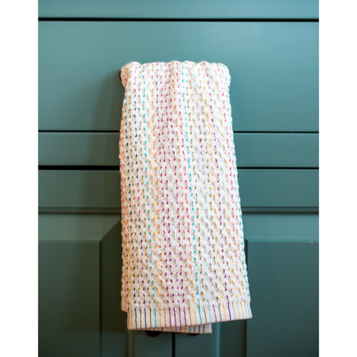 Valley Yarns #129 Confetti Dish Towel PDF -  ()