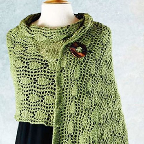 Valley Yarns 129 Lucy's Shawl -  ()