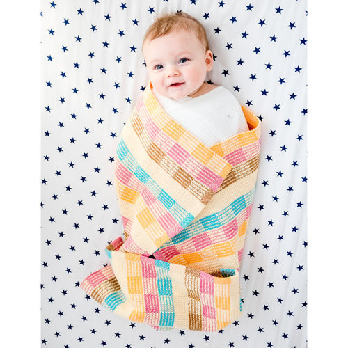 Valley Yarns #132 Cotton Candyland Blanket PDF -  ()