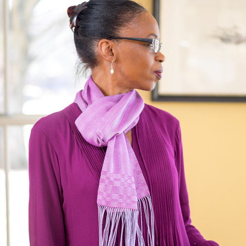 Valley Yarns #142 Lace Ribbons Scarf PDF -  ()