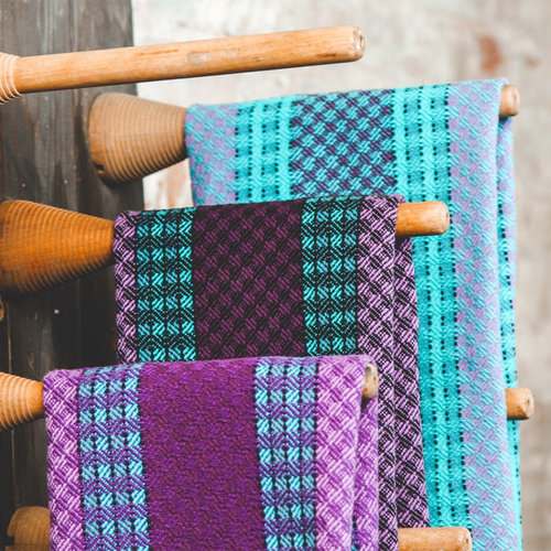 Valley Yarns #147 Kaleidoscope Towels PDF -  ()