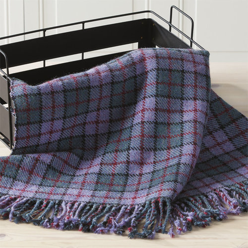 Valley Yarns #148 Tartan Throw PDF -  ()