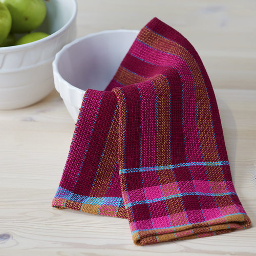 Valley Yarns #150 Candied Beet Towels PDF -  ()