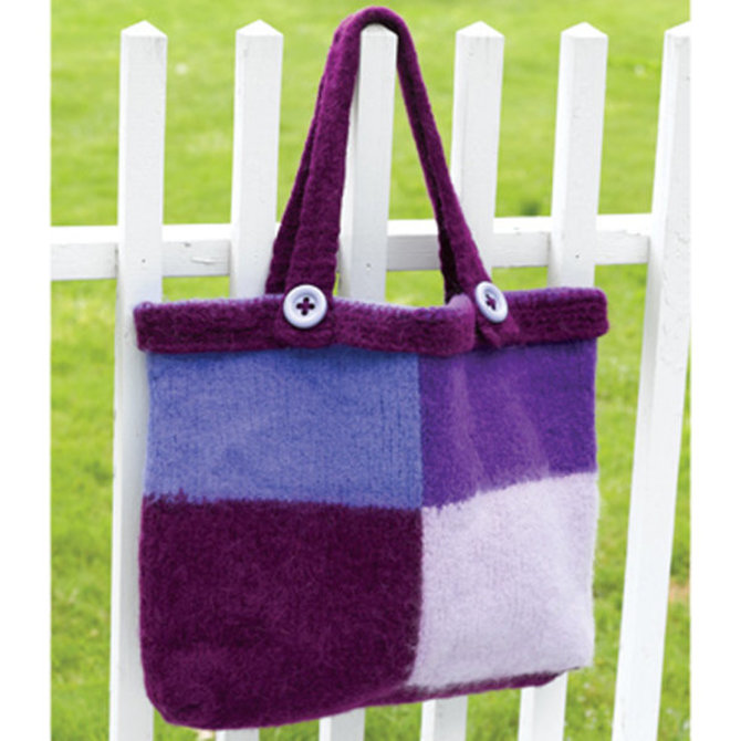 Valley Yarns 154d Vermont Felted Bag Free Pattern Now