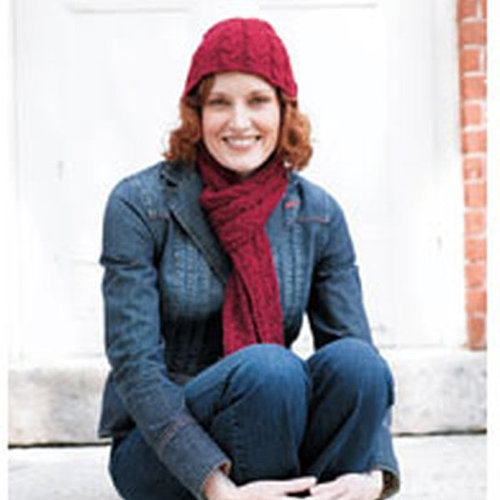Valley Yarns 159 Oxbow Hat & Scarf (Free) -  ()