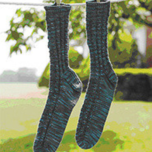 Valley Yarns 160 Brookside Socks (Free) -  ()