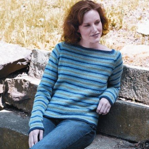 Valley Yarns 168 Fife Brook Pullover (Free) -  ()