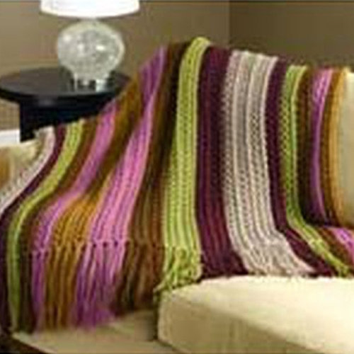 Valley Yarns 179 Country Lane Crocheted Afghan (Free) -  ()