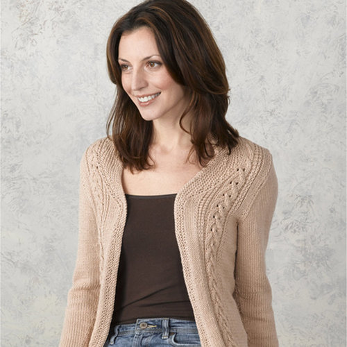 Valley Yarns 180 Radiance Cabled Jacket -  ()