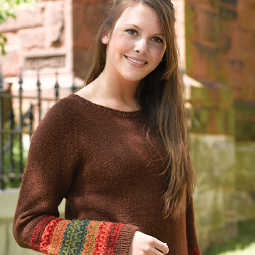 Valley Yarns 184 Harvest Pullover -  ()