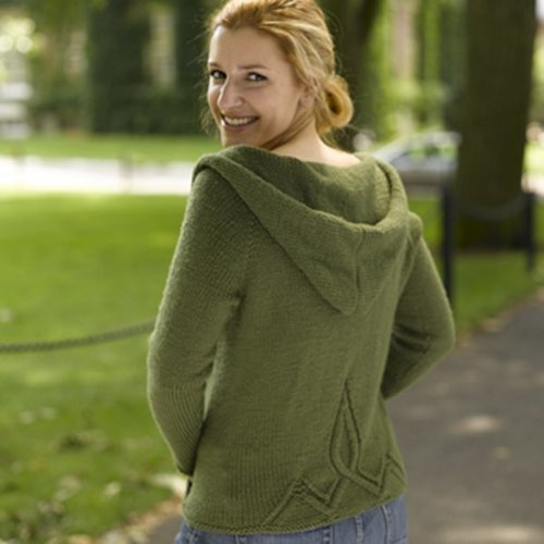 Valley Yarns 185 Olive Branch Yoga Hoodie - Download (185)