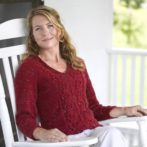 Valley Yarns 186 Taconic V-neck Pullover - Download (186)