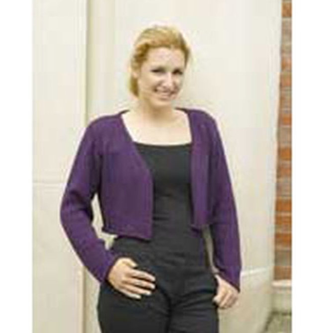 Free Crochet Pattern Cropped Sweater : Valley Yarns 187 Vineyard Cropped Cardigan (Free) at WEBS ...