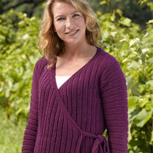 Valley Yarns 196 Market Street Tied Cardigan -  ()