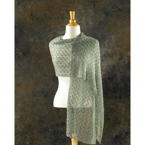 Valley Yarns 205 Crocus Bud Crocheted Shawl - Download (205)