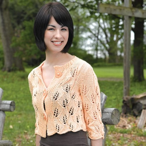 Valley Yarns 208 Sundrop Cropped Cardigan -  ()