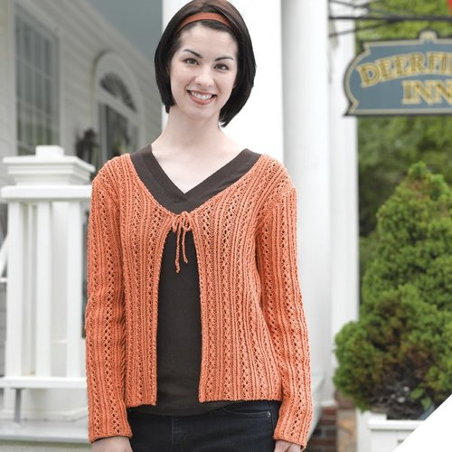 Valley Yarns 209 Ladder And Vine Cardigan -  ()