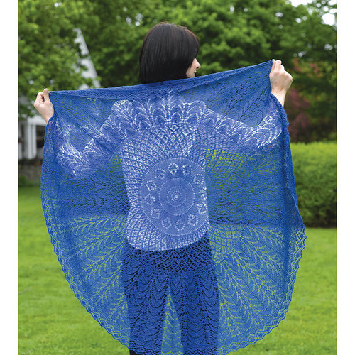 Valley Yarns 225 Firmaments Lace Shawl (Free) -  ()