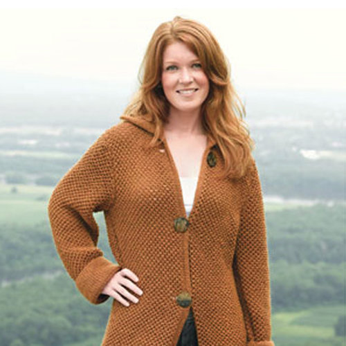 Valley Yarns 233 Landslide Long Coat PDF -  ()