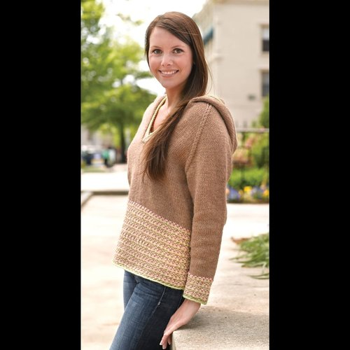 Valley Yarns 266 Melange Pullover -  ()