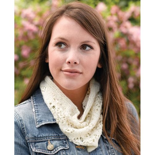 Valley Yarns 268 Spider and Web Lace Cowl -  ()