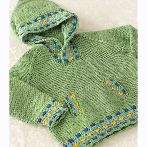 Valley Yarns 274 Candy Spot Child's Hoodie PDF -  ()