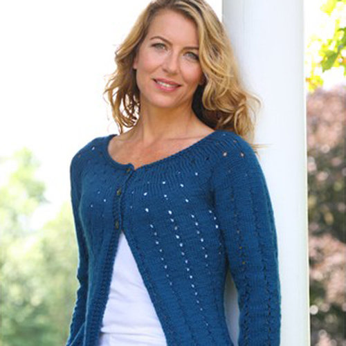 Valley Yarns 281 Point and Line Cardigan - Download (281)