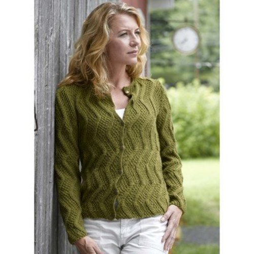 Valley Yarns 282 Dunwich Cardigan -  ()