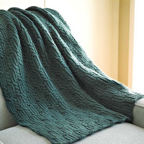 Valley Yarns 285 Soft Cables Afghan - Download (285)