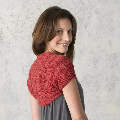 Valley Yarns 291 Shirred Shrug -  ()