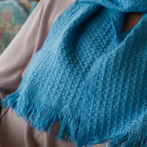 Valley Yarns #30 Zephyr Huck Lace Scarf PDF -  ()