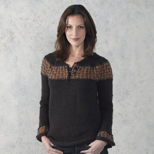 Valley Yarns 305 Dragonfly Henley -  ()
