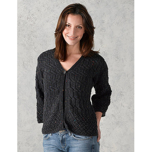 Valley Yarns 309 Watered Steel Cardigan -  ()
