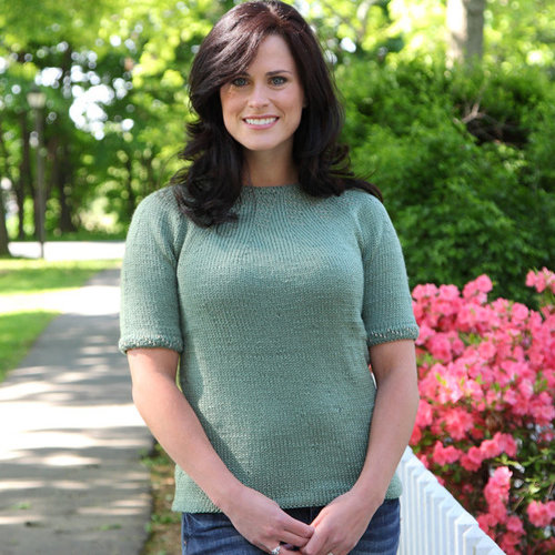 Valley Yarns 314 Lily Pad Beaded Pullover -  ()