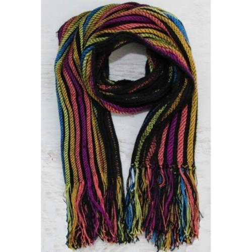 Valley Yarns #32 Collapse Weave Scarf PDF -  ()